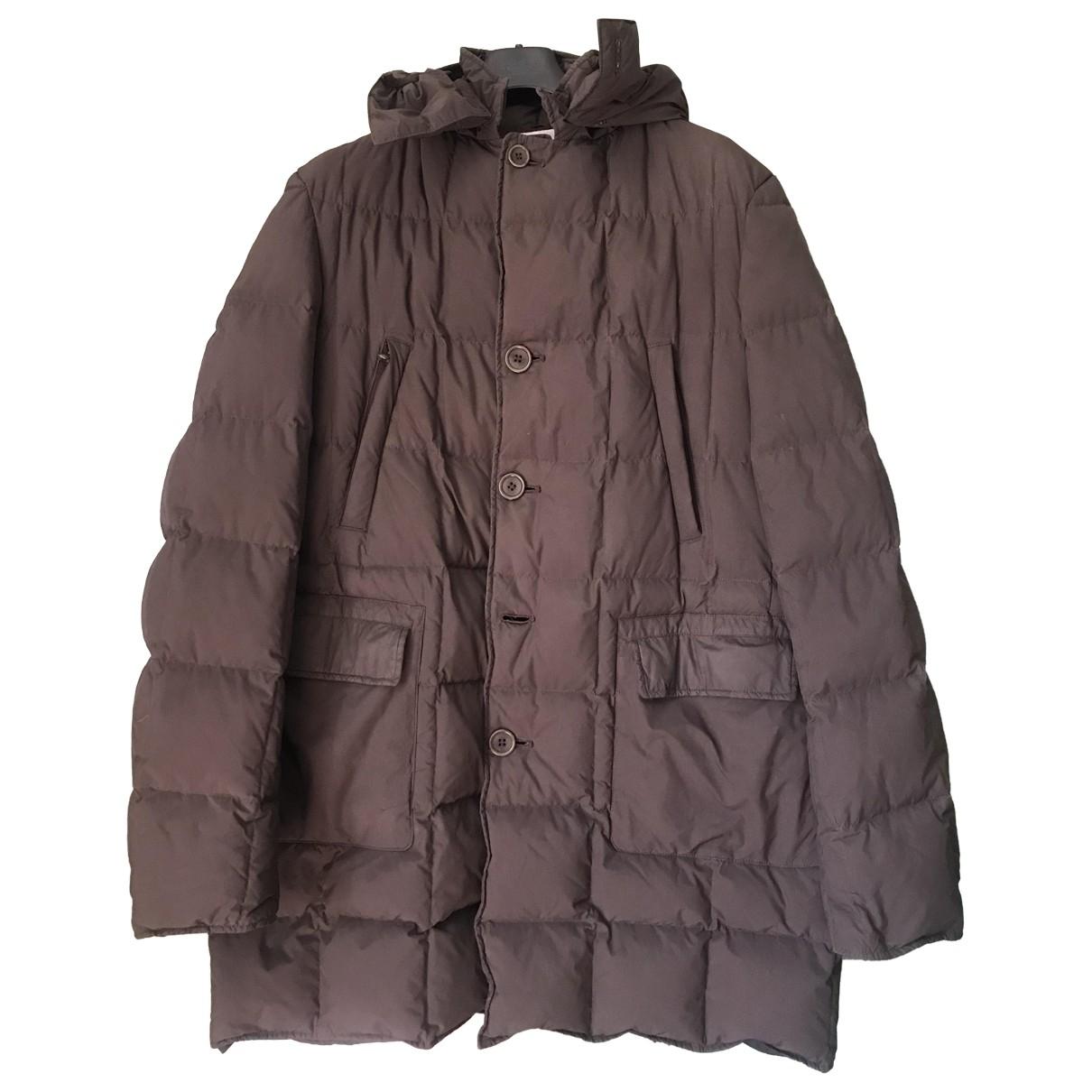 Aspesi - Manteau   pour homme en coton - gris