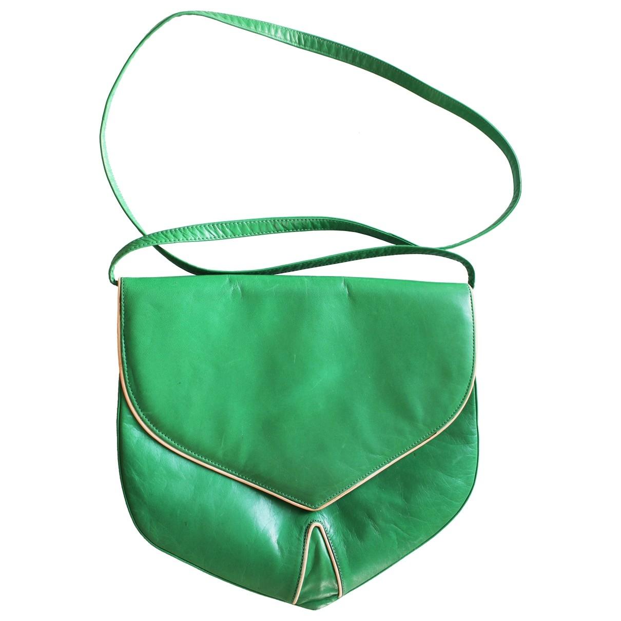 Charles Jourdan \N Handtasche in  Gruen Leder