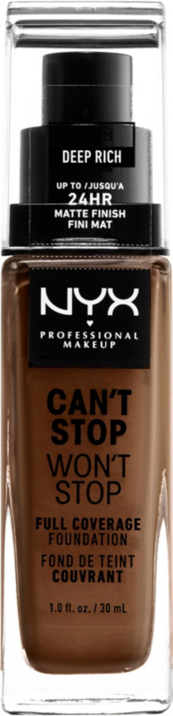 Can't Stop Won't Stop Foundation - Deep Rich (deep w/ pink undertone)