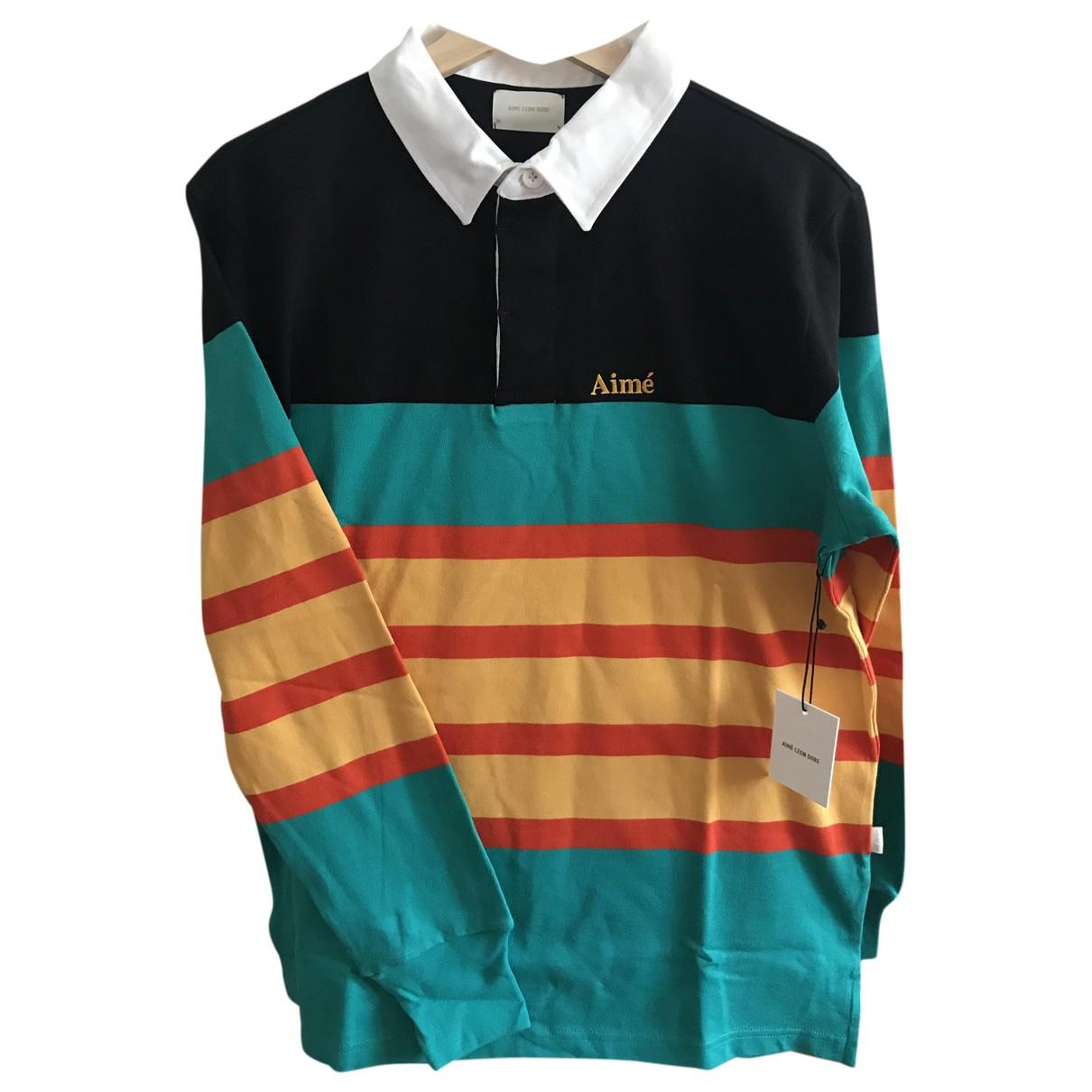 Polo en Algodon Multicolor Aime Leon Dore