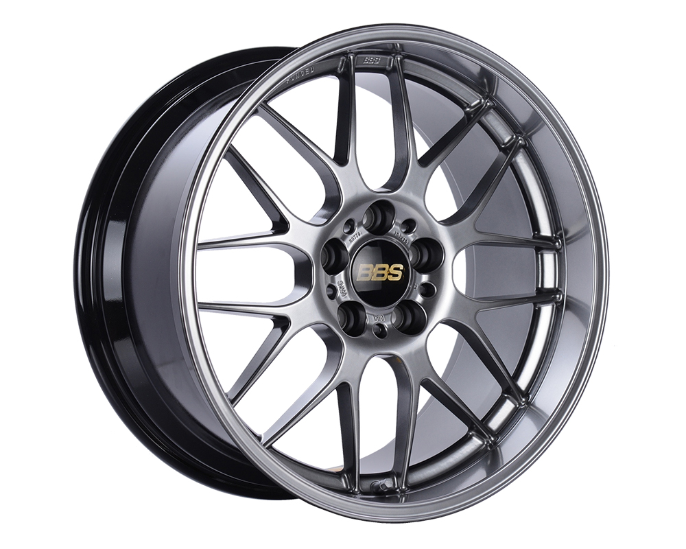 BBS RG-R Wheel 19x8.5 5x112 32mm Diamond Black RG780DBK