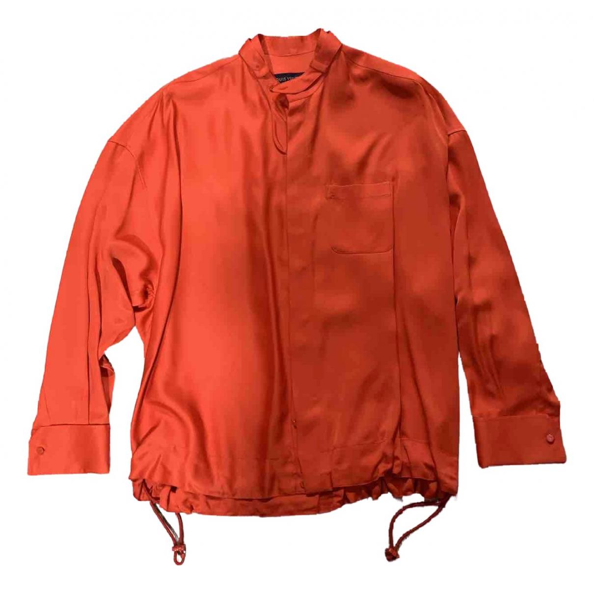 Louis Vuitton - Chemises   pour homme - rouge