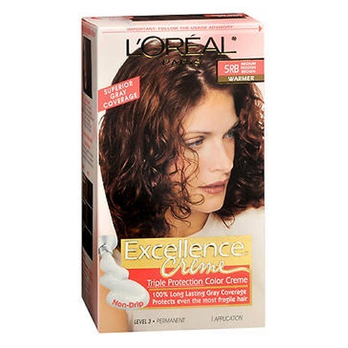LOreal Excellence Creme Medium Reddish Brown Warmer 1 each by Loreal