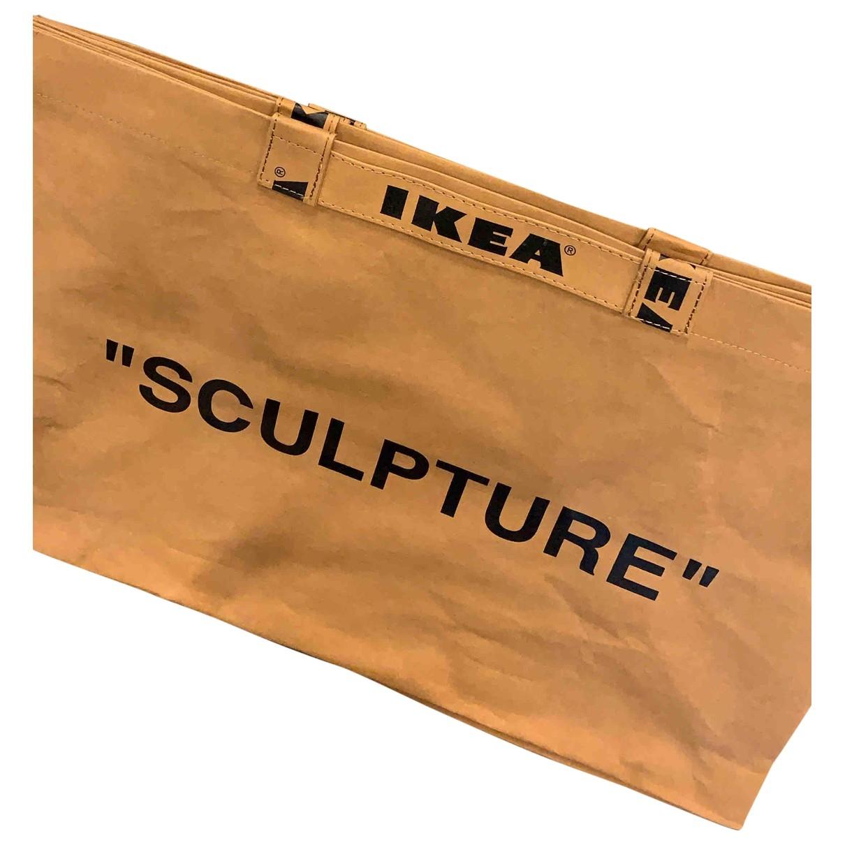 Virgil Abloh X Ikea \N Camel handbag for Women \N