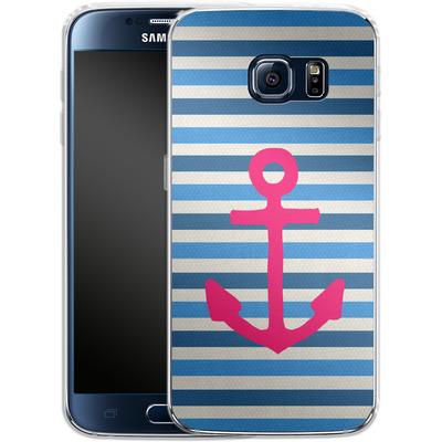 Samsung Galaxy S6 Silikon Handyhuelle - Stay von Bianca Green