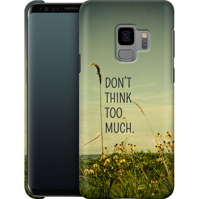 Samsung Galaxy S9 Smartphone Huelle - Travel Like A Bird Without Care von Joy StClaire