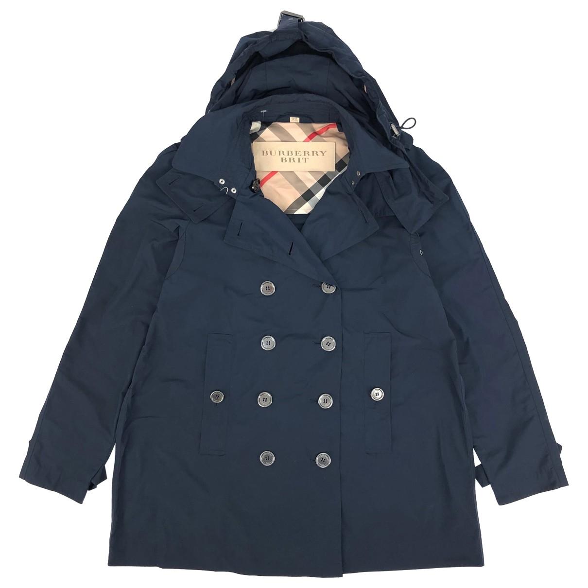 Burberry \N Navy coat for Women M International