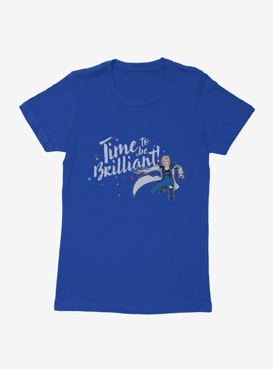 Doctor Who The Thirteenth Doctor Time To Be Brilliant! Womens T-Shirt