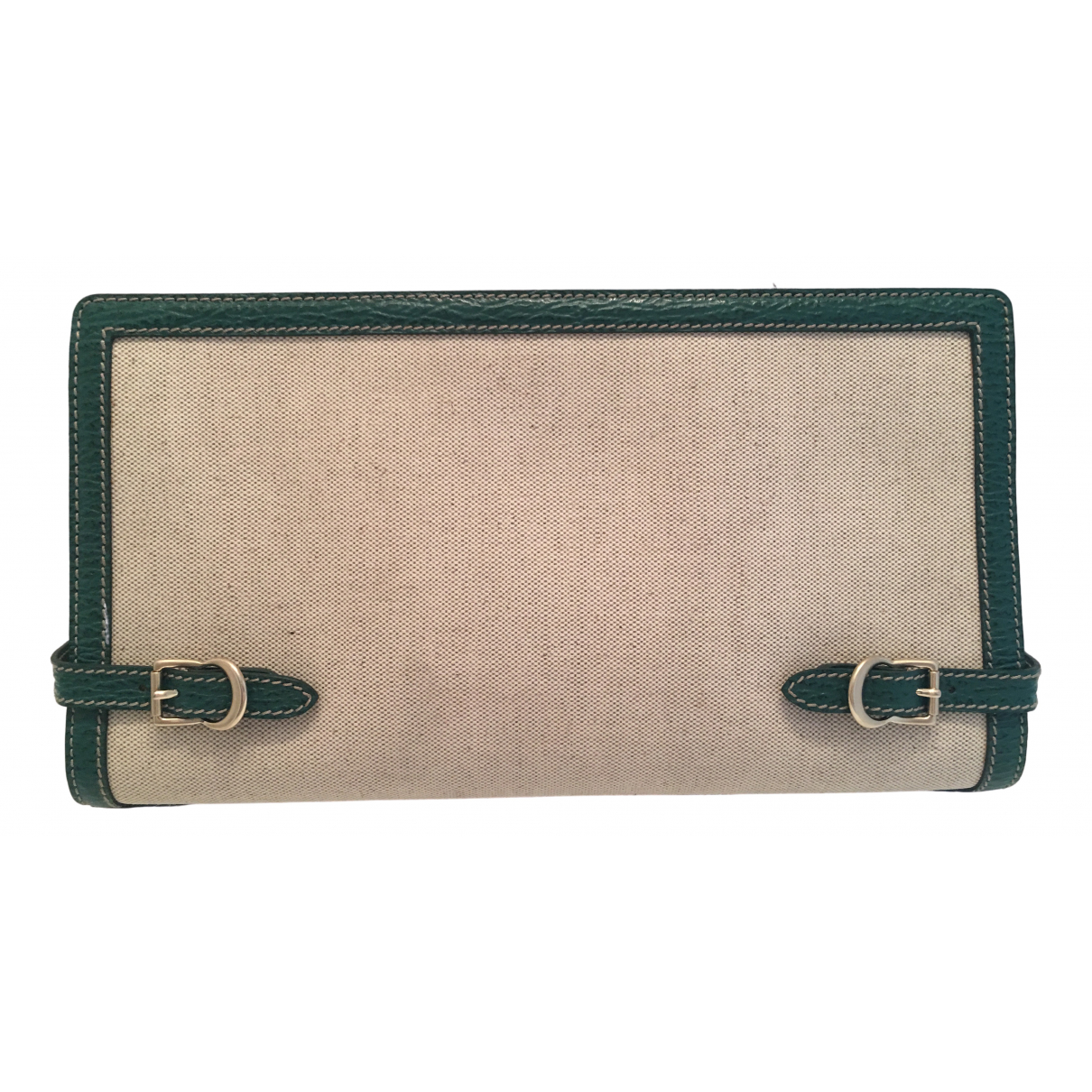 Bally - Pochette   pour femme en cuir - vert