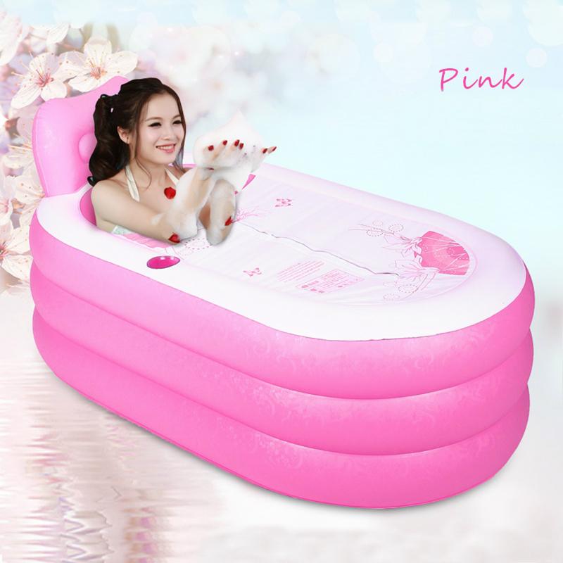 Portable Adult PVC Inflatable Bathtub with Air Pump