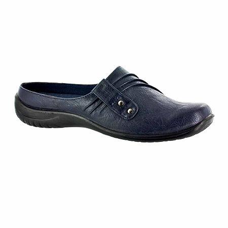 Easy Street Womens Holly Slip-On Shoe, 7 1/2 Wide, Blue