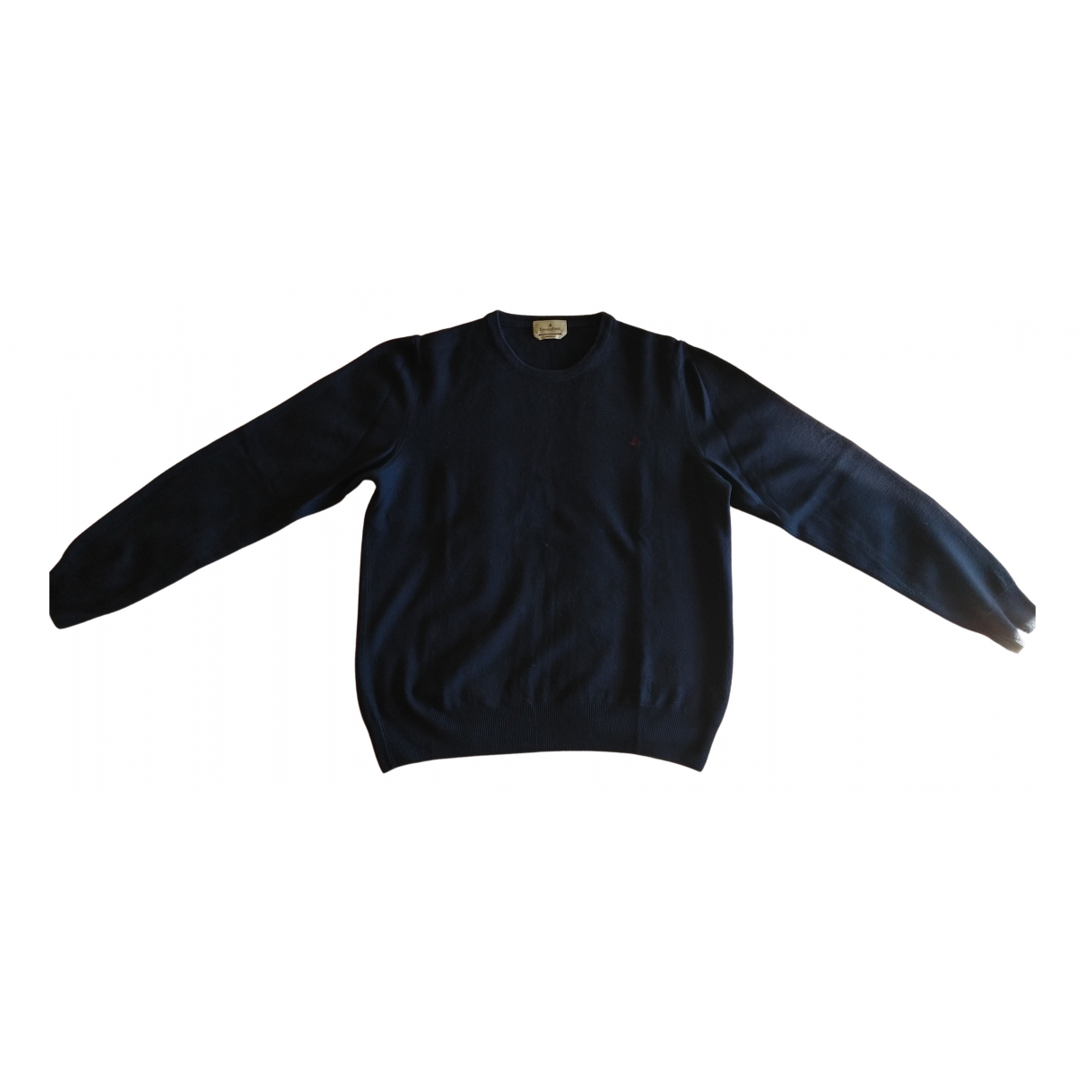 Brooksfield N Blue Wool Knitwear & Sweatshirts for Men 52 IT
