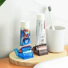 1 Stueck zufaellige Farbe manueller Zahnpasta-Quetscher