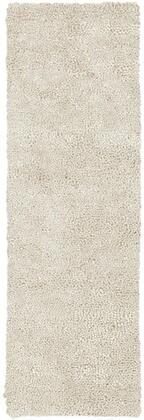 Aros Collection AROS2-410 Runner 4' x 10' Rug  Hand Woven with Wool Material in Cream