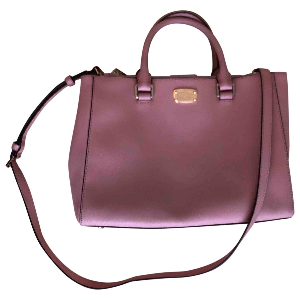 Michael Kors \N Handtasche in  Rosa Leder
