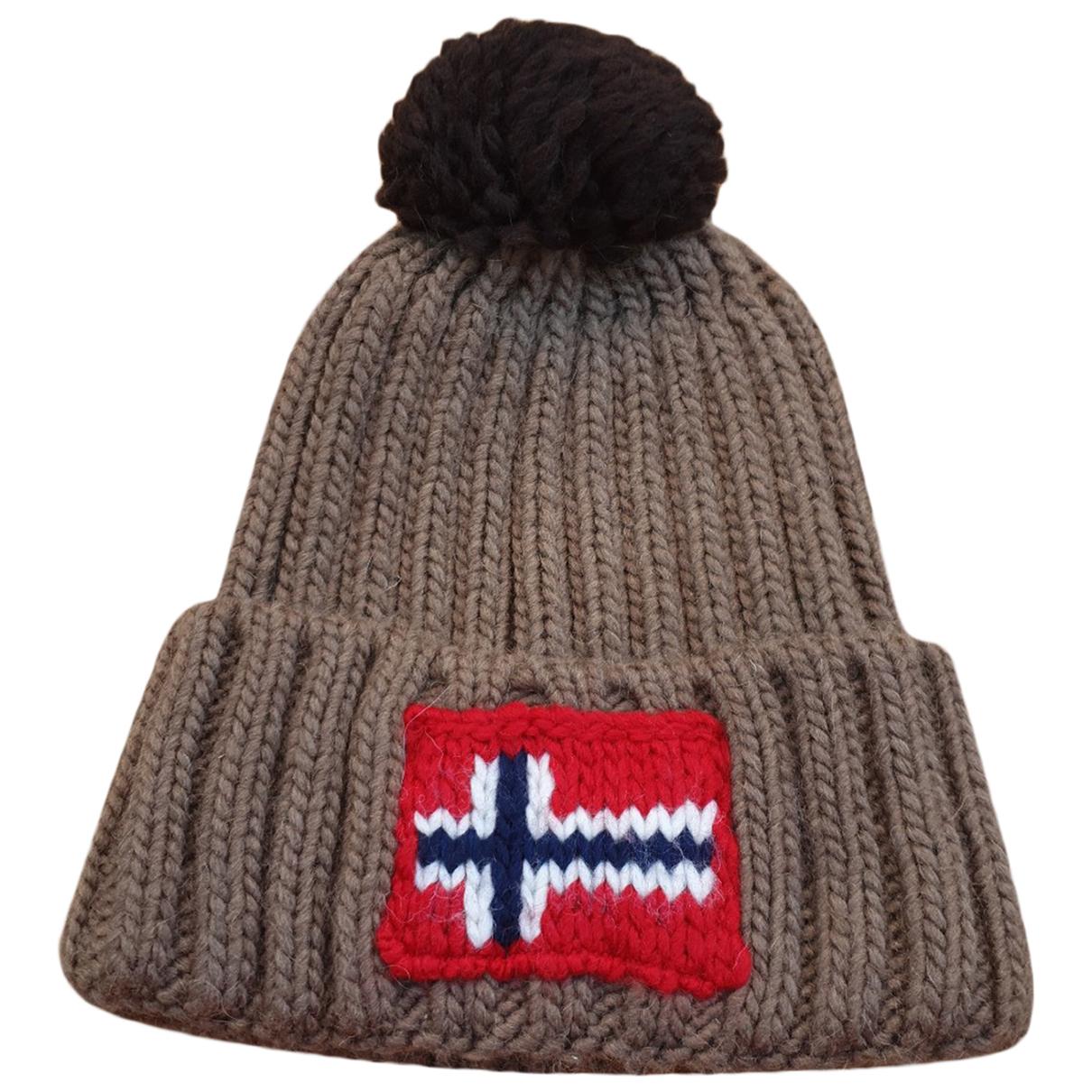 Napapijri \N Hut, Muetzen, Handschuhe in  Beige Wolle