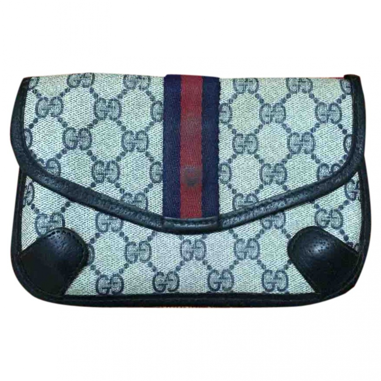 Gucci \N Blue Cloth Purses, wallet & cases for Women \N
