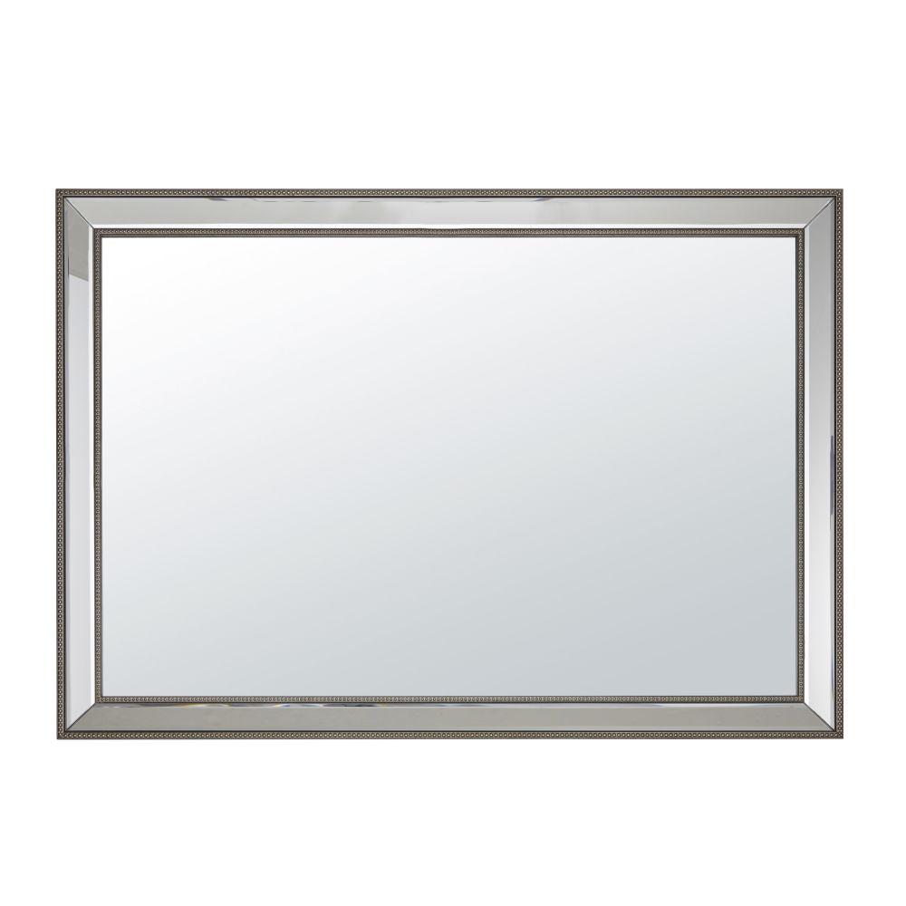 Spiegel mit Perlenrahmen 70x100