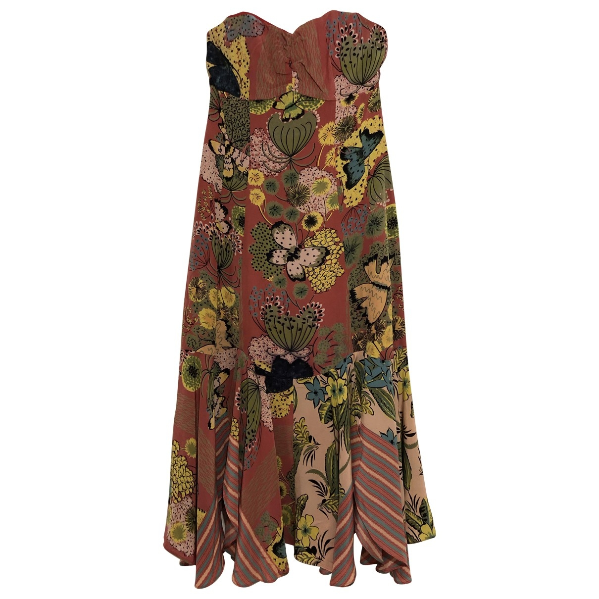 Non Signé / Unsigned \N Pink Silk dress for Women 2 US