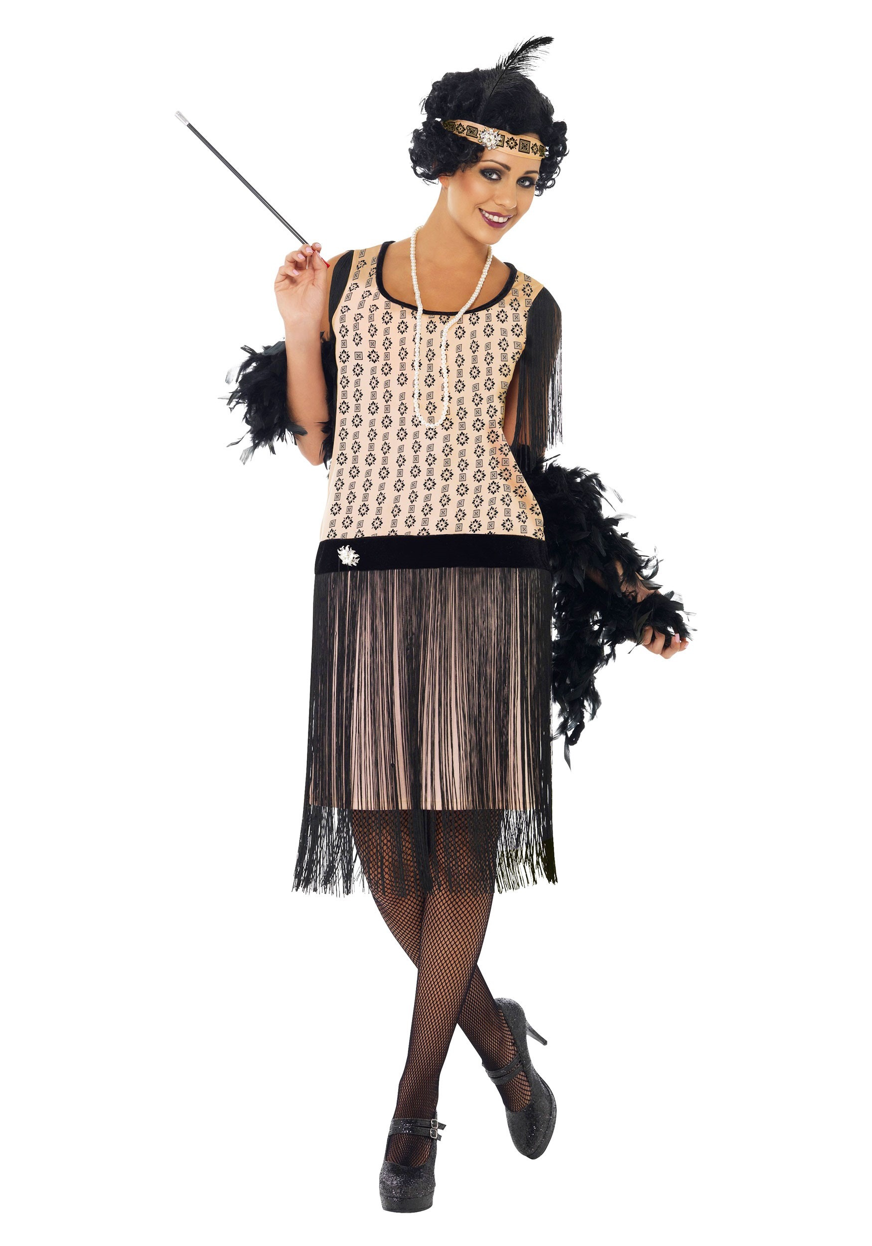 1920s Coco Flapper Costume For Adults