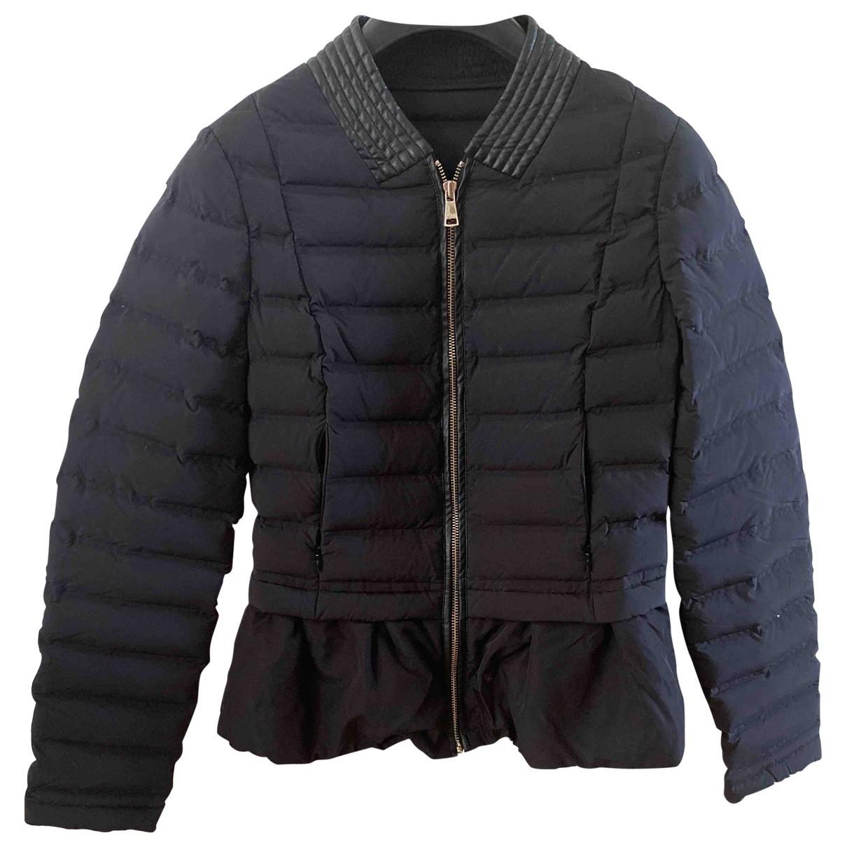Guess \N Jacke in  Schwarz Polyester
