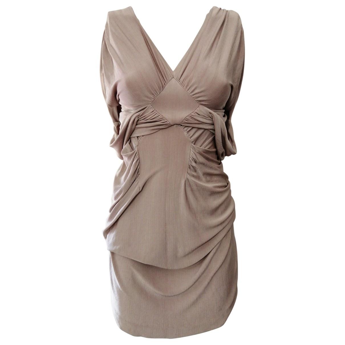 Yves Saint Laurent \N Pink dress for Women S International