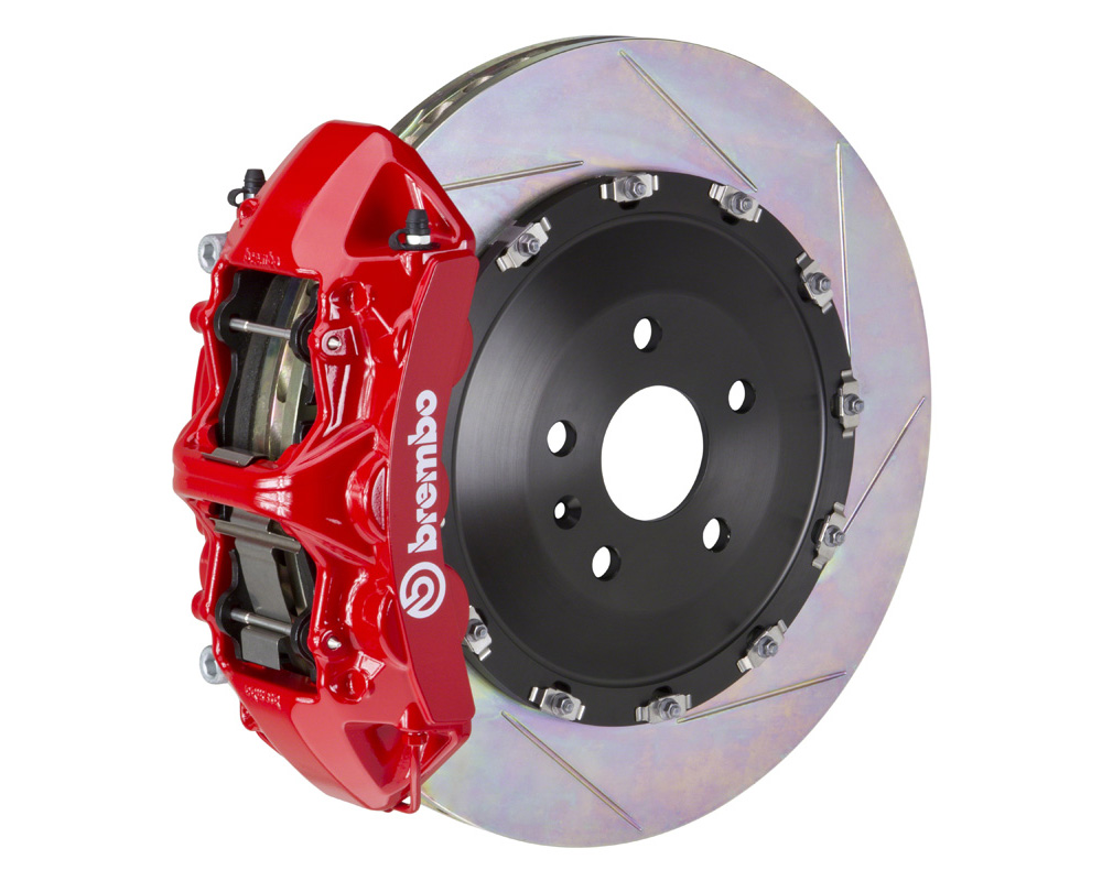 Brembo GT 405x34 2-Piece 6 Piston Red Slotted Front Big Brake Kit
