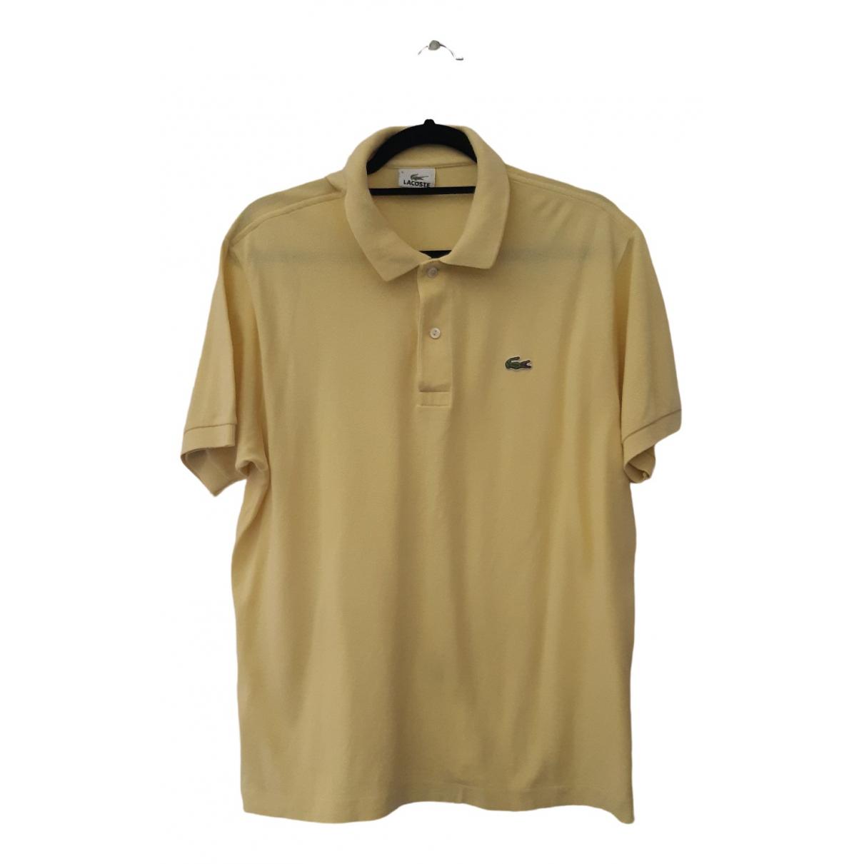 Lacoste \N Poloshirts in  Gelb Baumwolle