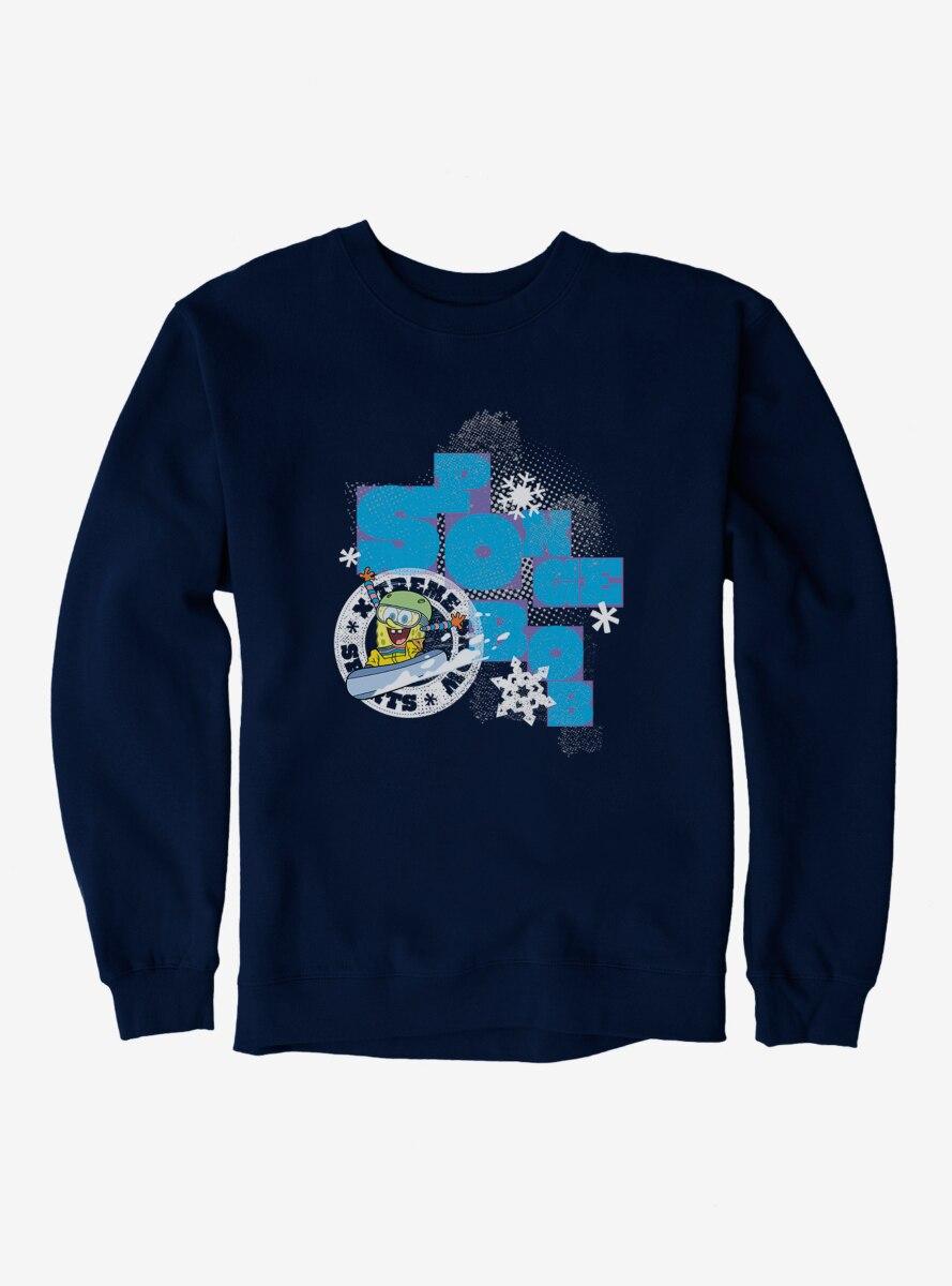 SpongeBob SquarePants Xtreme Sports Snowboarding Sweatshirt