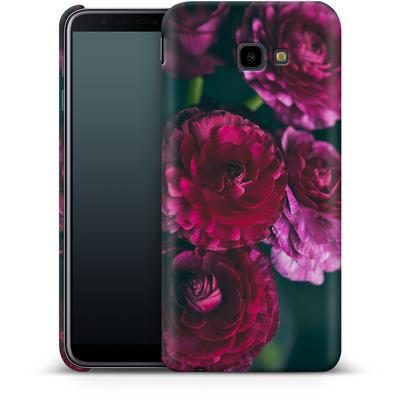 Samsung Galaxy J4 Plus Smartphone Huelle - Purple Ranunculus 2 von Joy StClaire
