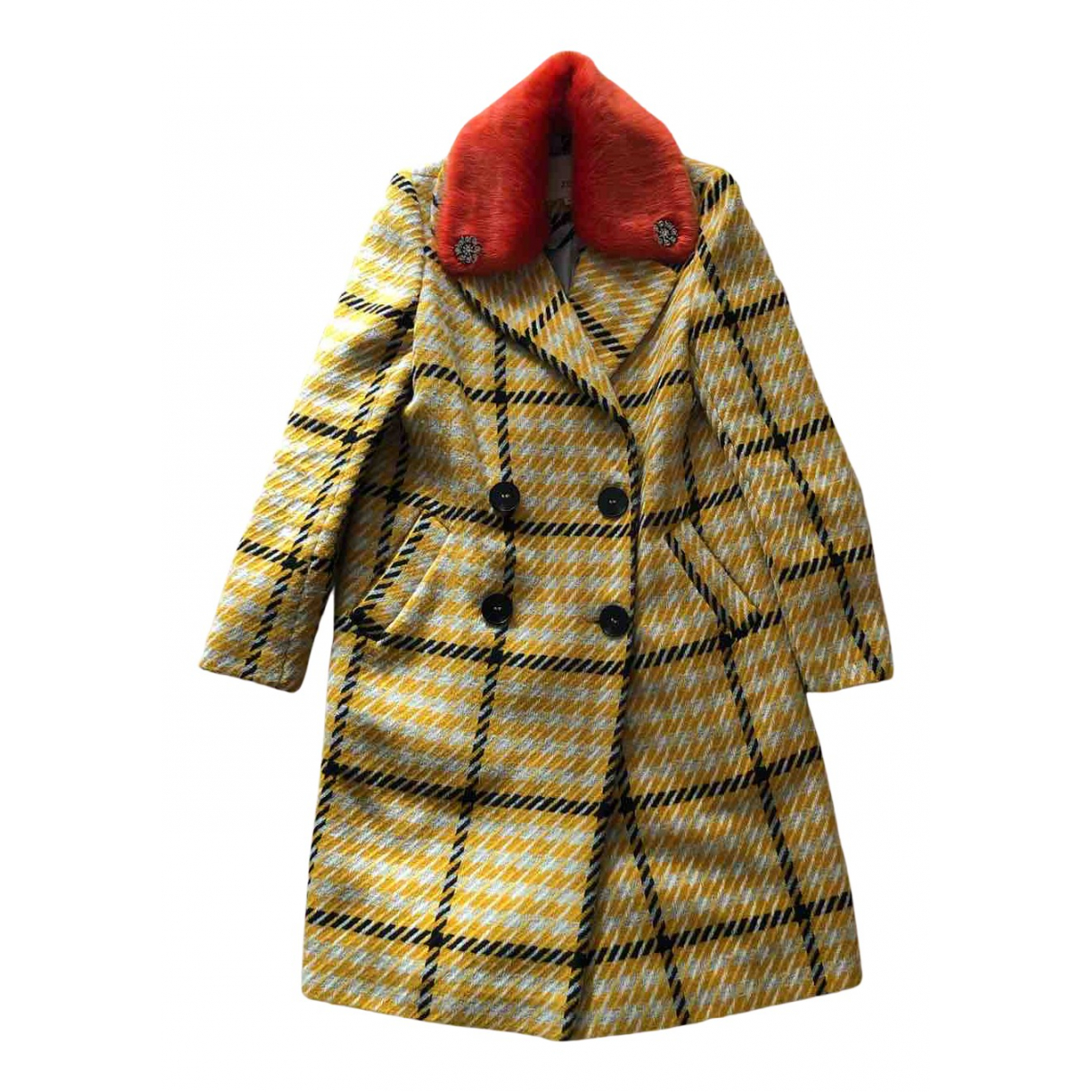 River Island N Yellow coat for Women 8 UK