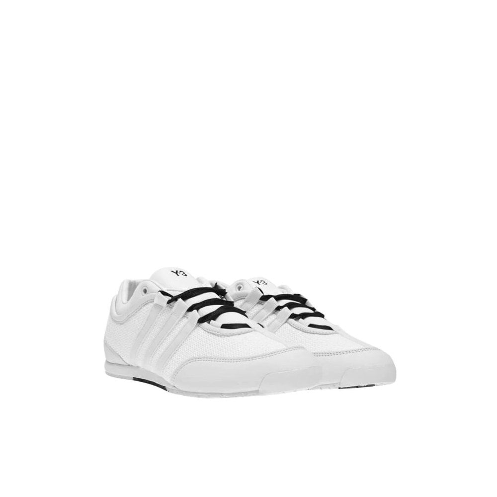 Y-3 Boxing Prime-knit Mesh Trainers Size: 8.5, Colour: WHITE