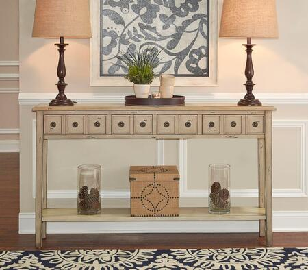 16A8213C Sadie Collection Cream Long Console in
