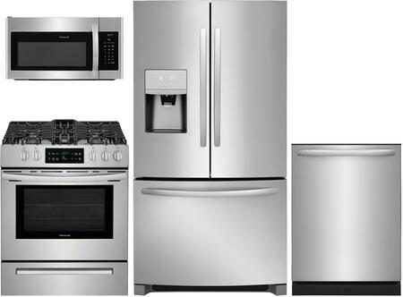4 Piece Kitchen Appliance Package with FFHD2250TS 36
