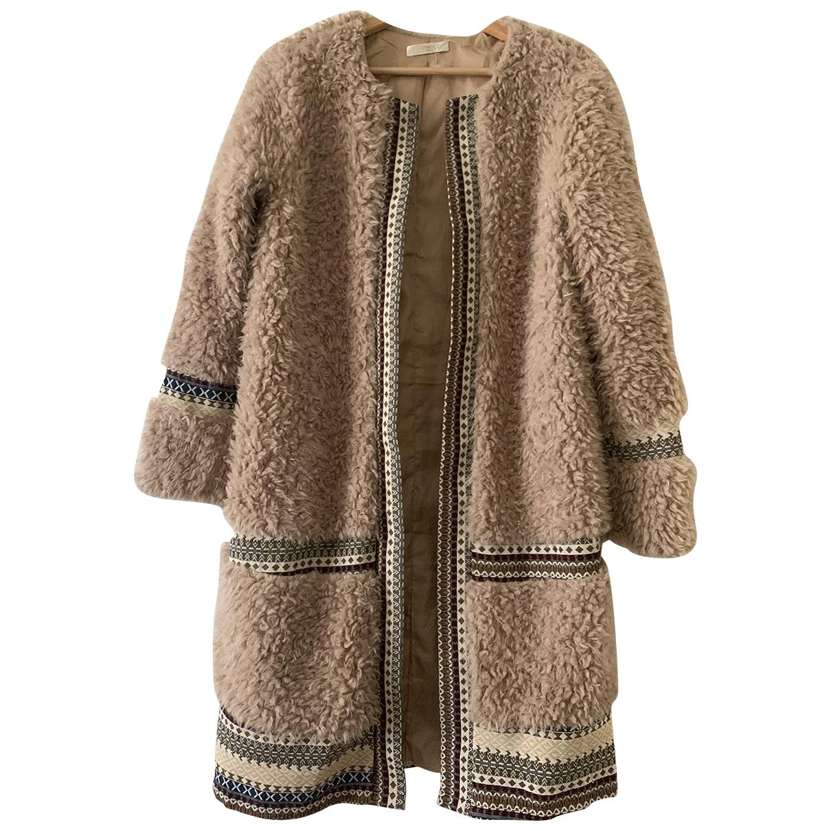 - Manteau Hippie Chic pour femme - ecru
