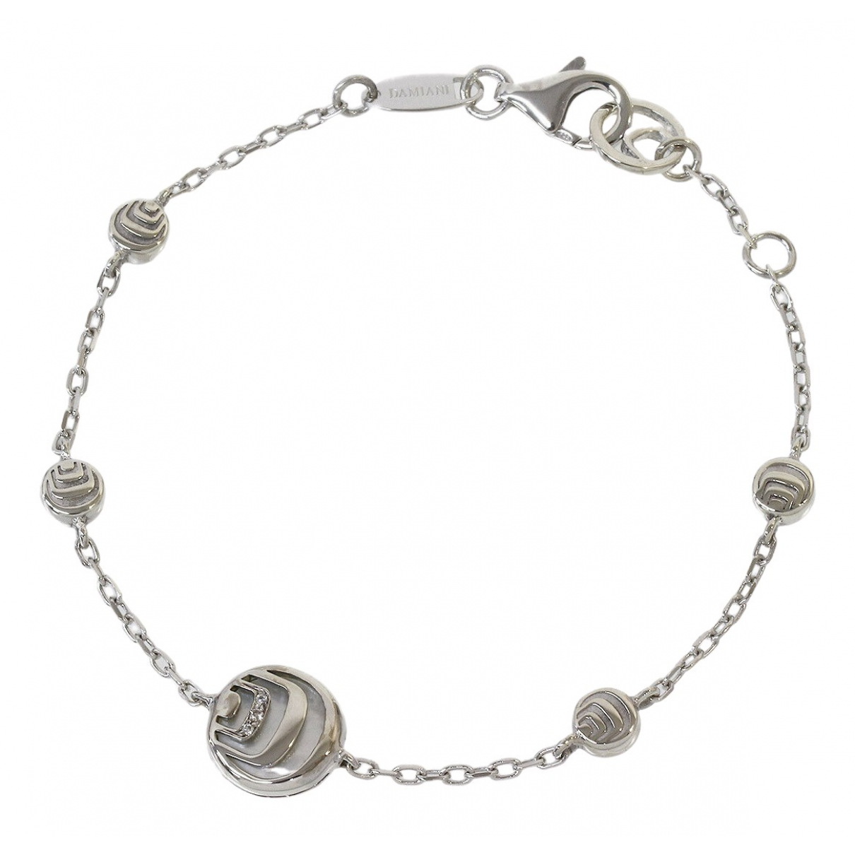 Damiani \N Armband in  Silber Weissgold