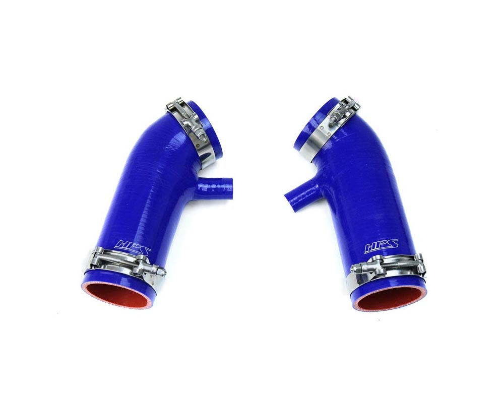 HPS Blue Reinforced Silicone Post MAF Air Intake Hose Kit for Nissan 07-08 350Z 3.5L VQ35HR