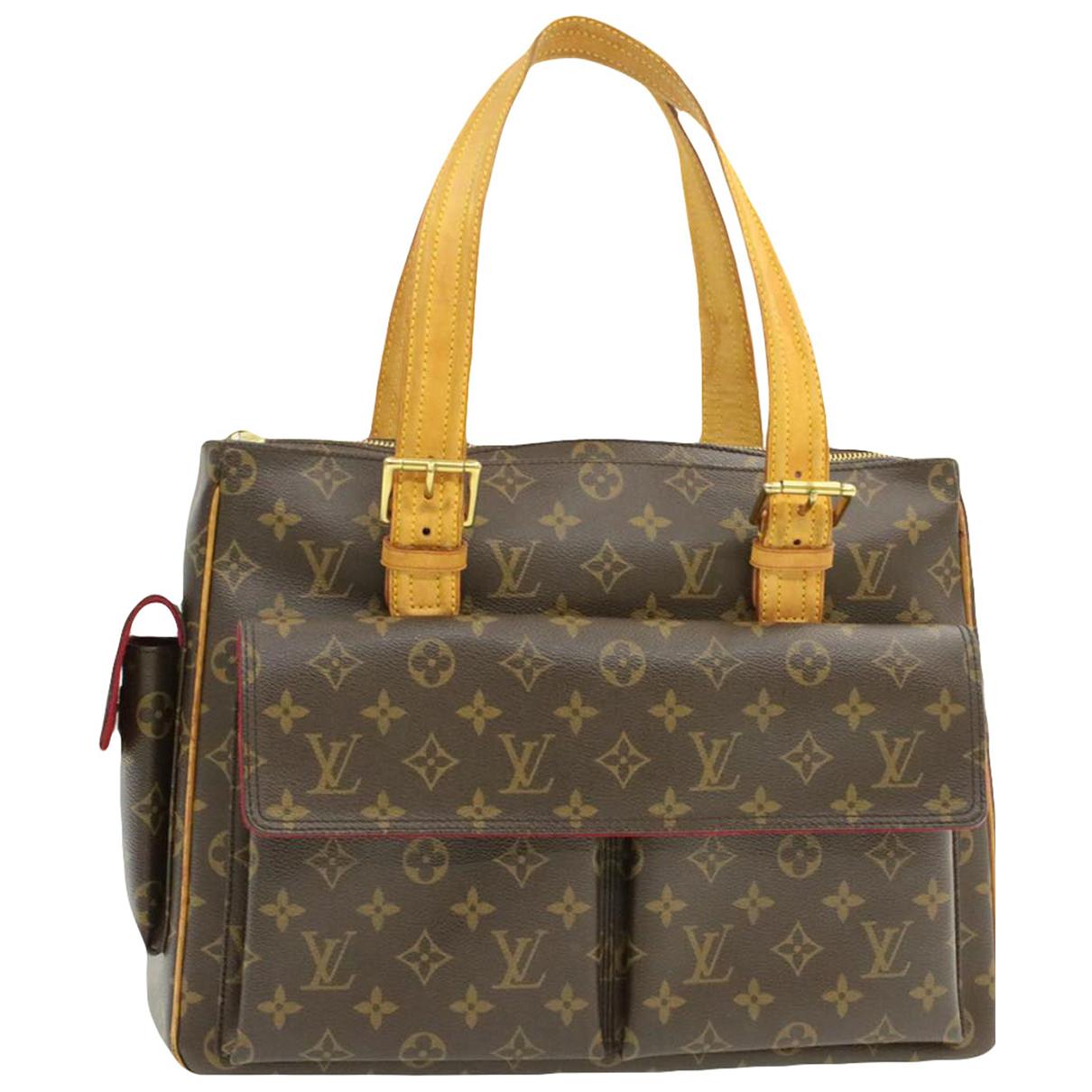 Louis Vuitton Cite  Brown Cloth handbag for Women \N