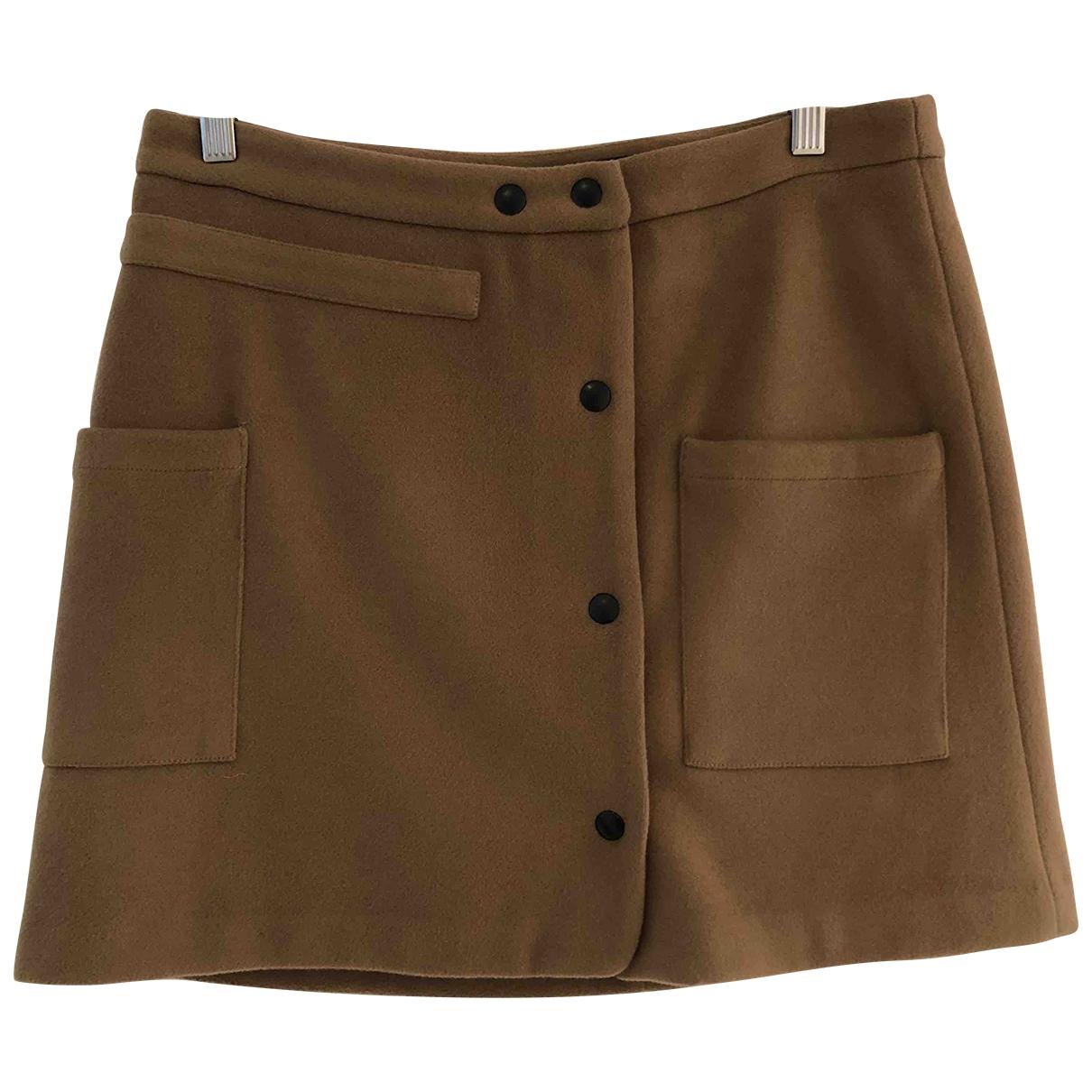 Margaux Lonnberg \N Camel Wool skirt for Women M International
