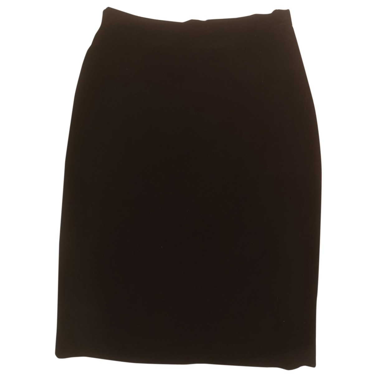 Valentino Garavani \N Black Velvet skirt for Women 14-16 US