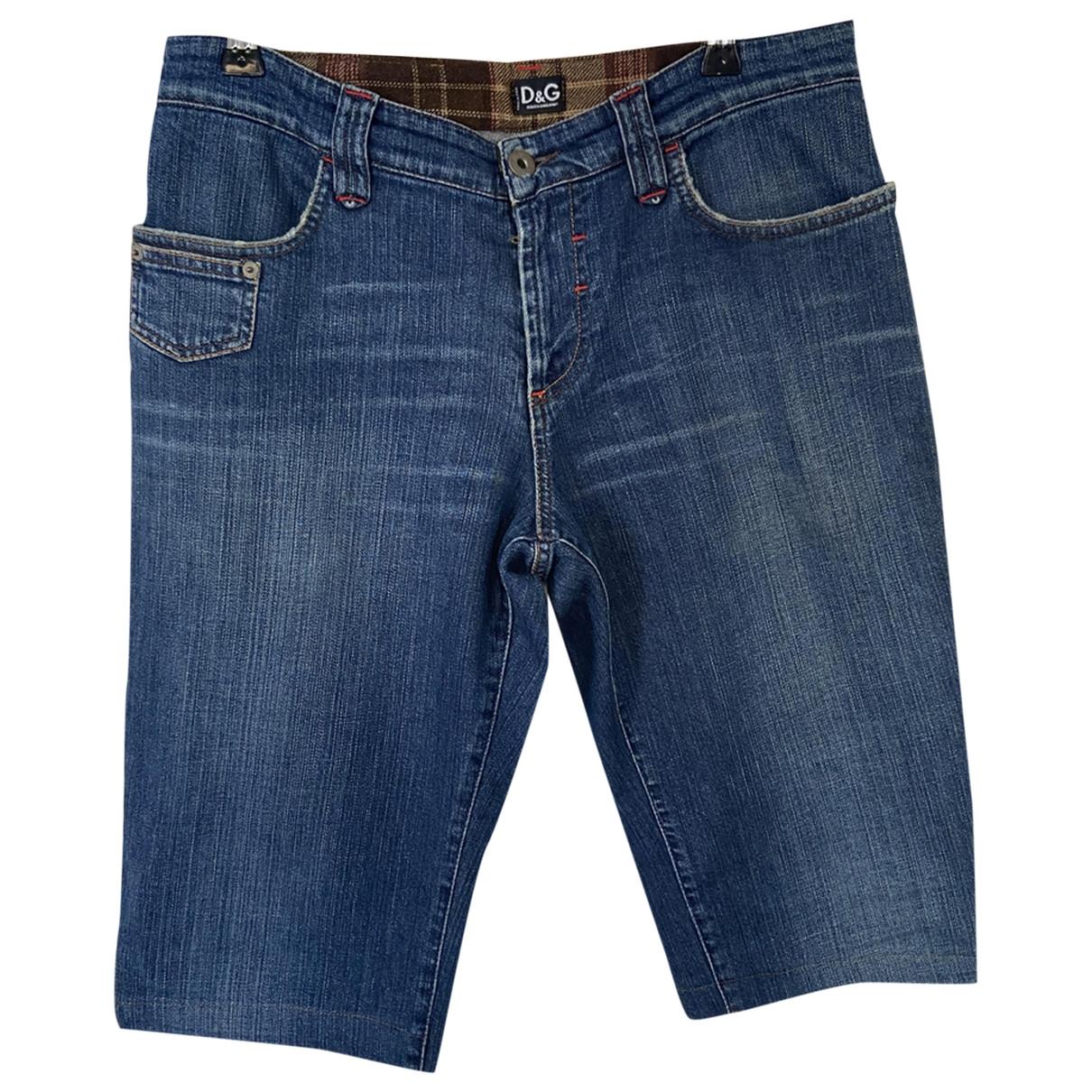 D&g \N Shorts in  Blau Denim - Jeans