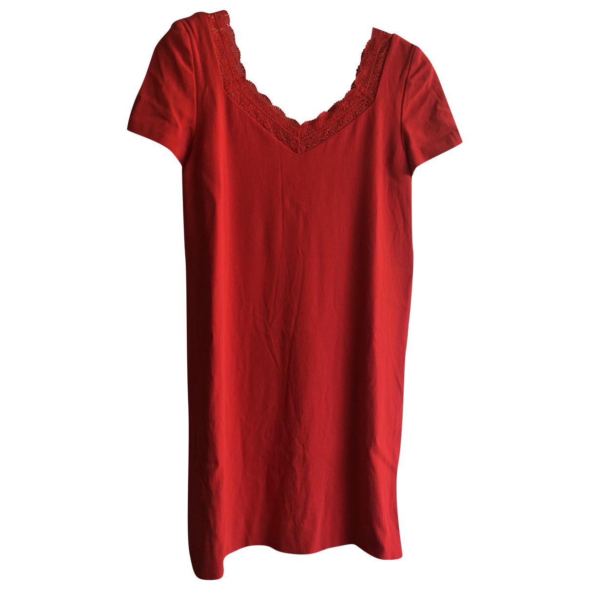 Sézane Spring Summer 2019 Red dress for Women 36 FR
