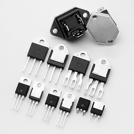 Littelfuse Q4025L6TP 25A, 400V, TRIAC, Gate Trigger 2.5V 80mA, 3-pin, Through Hole, TO-220AB (500)