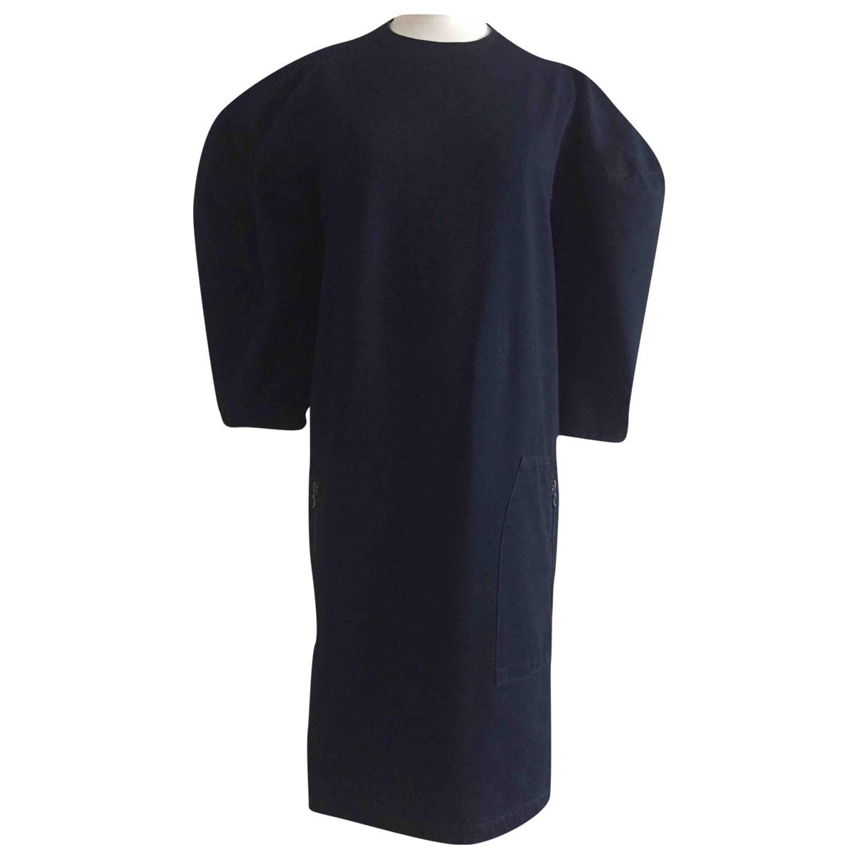 Lanvin - Robe   pour femme en denim - marine