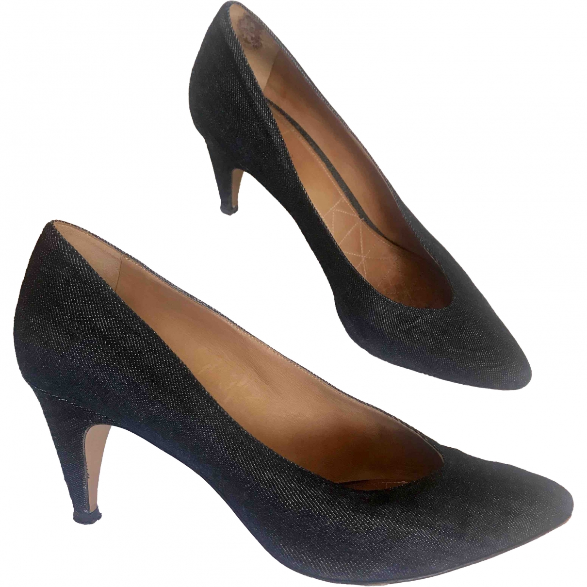 Isabel Marant \N Blue Cloth Heels for Women 38 EU