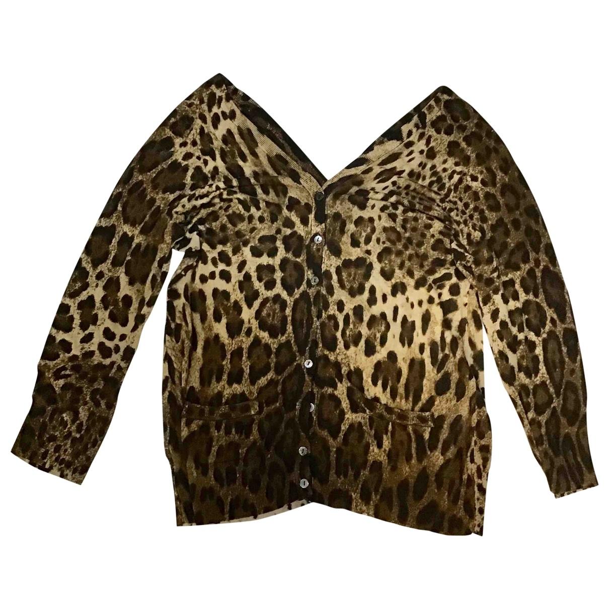 Dolce & Gabbana \N Multicolour Silk Knitwear for Women L International