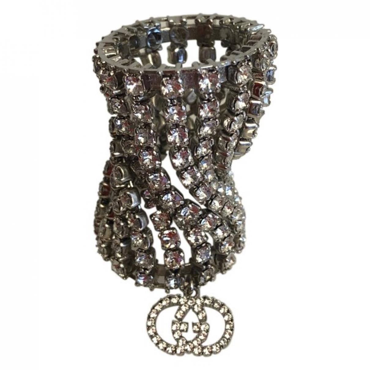 Gucci - Bague   pour femme en acier - argente