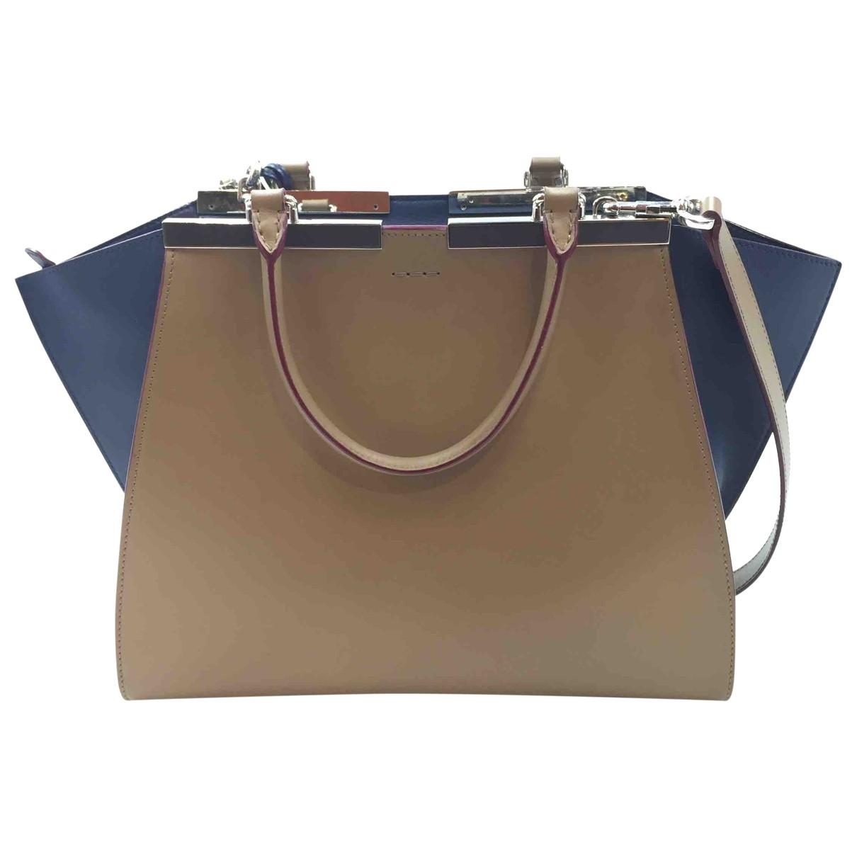 Fendi 3Jours Handtasche in  Braun Leder