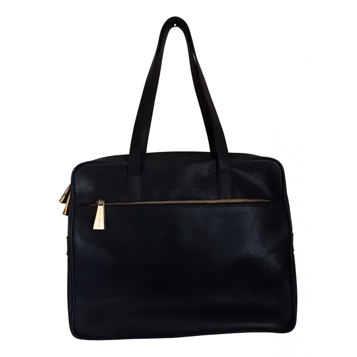 Coccinelle N Black Leather handbag for Women N
