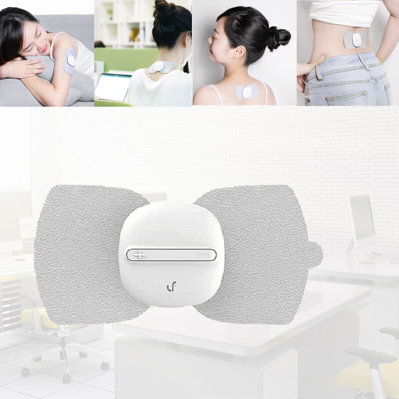 Portable Magic Massage Stickers One Finger Control All Body USB Charge Massager Personal Care